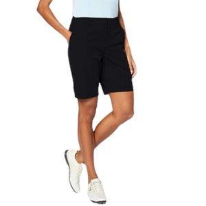 Ladies Black Bermuda Shorts